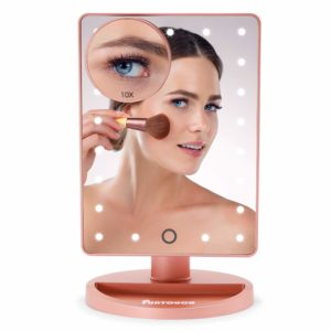 UNTOUCH Vanity Lighted Makeup Mirror