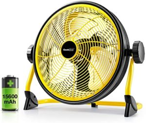 Geek Aire Battery Operated Floor High-Velocity Fan