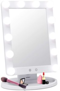 AirExpect Makeup Vanity Mirror with Light Bulbs