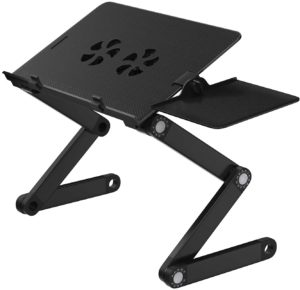 HUANUO Adjustable Laptop Stand with 2 CPU Cooling Fans