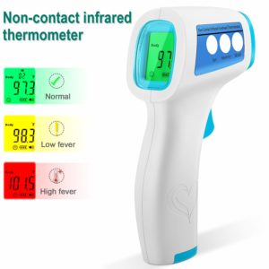 SZMP Non-Contact Infrared Thermometer with Memory