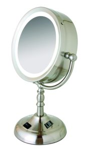 Floxite 8x 1x Daylight Lighting Cosmetic Mirror