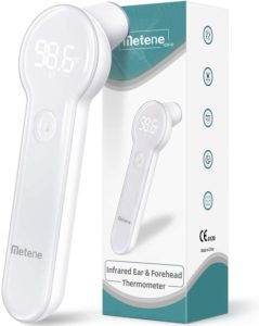 Metene Forehead and Ear High Accuracy Infrared Thermometer