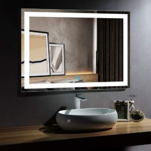 DP Home Large Illuminated Lighted Makeup Mirror