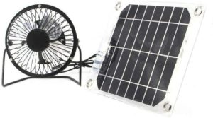 Solar Ventilator 5W 4 inch Free Energy Fan