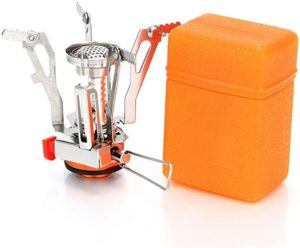 AOTU Portable Backpacking Stove with Piezo Ignition