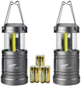 HAUSBELL Portable Collapsible Flashlight with Magnetic Base